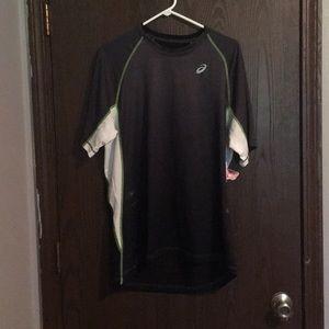 asics, athletic shirt